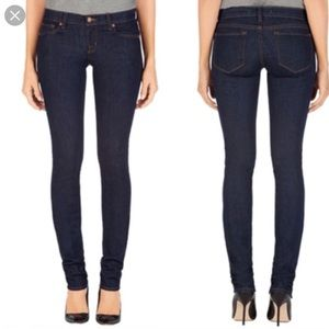 J Brand Pencil Leg Dark Wash Jeans